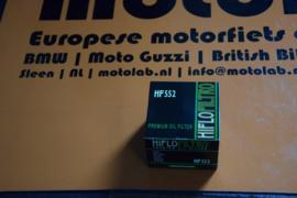 Oliefilter Moto Guzzi  Hiflo HF552  S3 | LM | 850 | 1000SP
