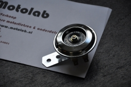 Toeter 6V Blank 65mm zwarte trilplaat