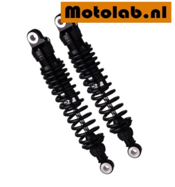 Schokbrekers SET ALL BLACK  YSS Topline 33cm o.a.  BMW R2V /5 /6 /7 Lange swing RZ362-330TRL-57-B-X