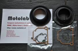 Pakkingset MET membraan!  voor 2stuks  BING CV Carburateur 40mm BMW R2V