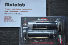 Domino | Tommaselli Handvatrubber SET 22mm Zwart/Grijs 118mm lang