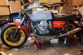 Moto Guzzi LeMans 850 II ( met I look) getuned