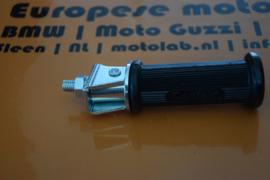 Voetsteun + rubber Rond BMW R2V ''40 tot/6 ACHTER  OEM 46711230477