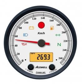 Acewell  Serie CA085 KM-Teller Witte wijzerplaat
