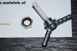 Karcoma kraan adapter voor 2 benzine slangen