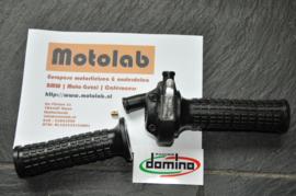Gas handvat SET Mat Zwart Tommaselli GHEPARD 22 mm