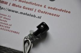 Nummerplaat verlichting Zwart LED 16mm M8