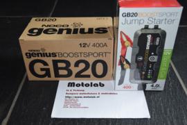 Jump Starter GB20 BoostSport 12V Lithium 400A TOT 4000cc !!