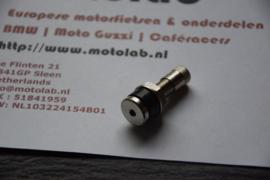 Ventiel RECHT 8,3mm Staal Tubeless velgen o.a. BMW GS R kruisspaak