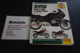 BMW 4-valve Twins '93 to '97 Haynes werkplaatsboek