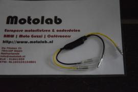 Weerstand klein tbv LED knipperlicht