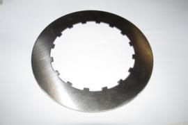 Koppelingsplaat staal BSA B & A-series tbv conversie 6--> 4 spring OEM 42-3195