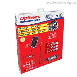 Tecmate Optimate Solar 1,66A (3-5 A pulse) with 20W panel