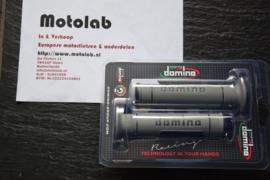 Domino | Tommaselli Handvatrubber SET 22mm Grijs/Zwart 125mm lang