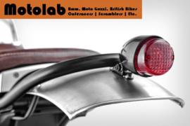 Kort  Achterspatbord Scrambler | 180mm | ALU