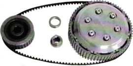 Triump Pre-unit  Taper Shaft NEB | N.E.B. Belt Drive koppeling | Clutch KIT Complete