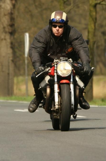 april 2007 op een getunede MG LeMans