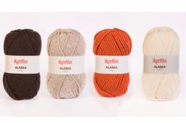 Sjaal acryl dik 1