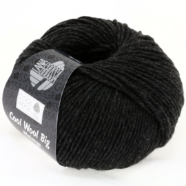 Cool Wool Big Mélange  618 Donker grijs