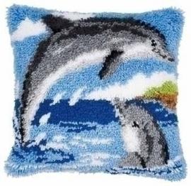 Knoopkussen 0014130 Dolfijn    Levertijd 1 week
