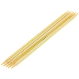 Breinaalden zonder knop bamboe dikte 4 - 20cm
