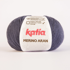Merino Aran 058 Denim Levering 1 week