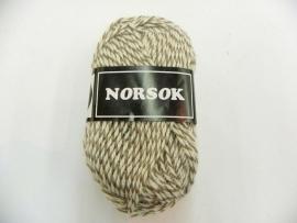 Norsok 6850 Ecru/bruin