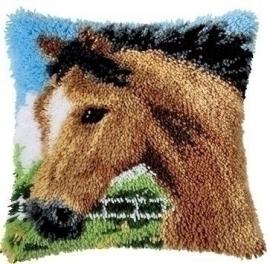 Knoopkussen 0014184 Paard   Levertijd 1 week