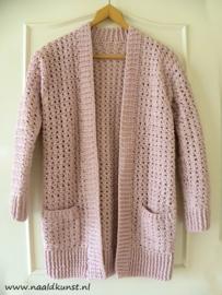 Vest 'CrissCross Cotton- Fine'