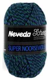 Scheepjes Super Norsk Zwart/blauw/groen 1680