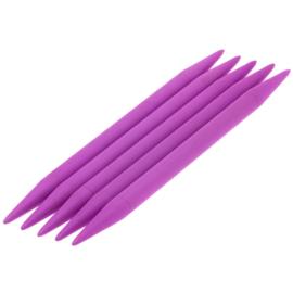 Breinaalden zonder knop kunststof dikte 12 - 20cm