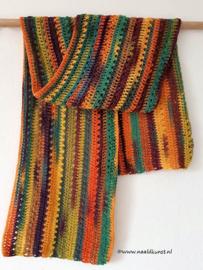 Gomitolo  gehaakte sjaal