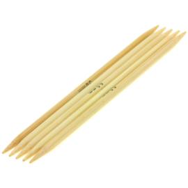 Breinaalden zonder knop bamboe dikte 5 - 20cm