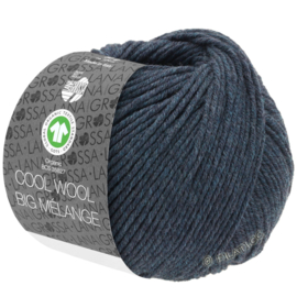 Cool Wool Big Mélange  357/211 Donker petrol
