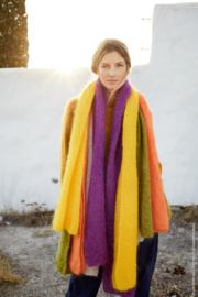 Brigitte nr.3 Sjaal breien