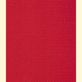 Aida 5,5 kruisjes op 1 cm 130 breed - rood