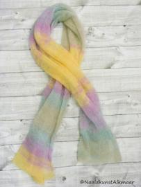 Silkhair sjaal breien