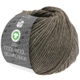 Cool Wool Big Mélange 315/224 Taupe (nog 12 bollen, daarna levering half Januari)