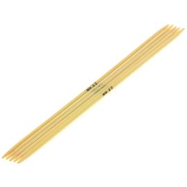 Breinaalden zonder knop bamboe dikte 2,5 - 20cm