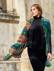 Colorissimo sjaal haken & breien