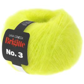 Brigitte nr.3 Neon geel 039