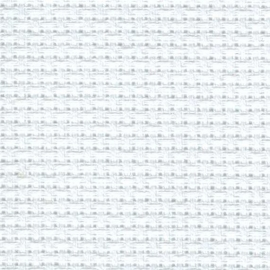 Aida 4,5 kruisjes op 1  cm 140 breed - wit