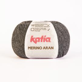 Merino Aran 014 Donker grijs