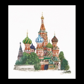 St. Basil's Cathedral Moscow 513