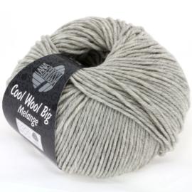 Cool Wool Big Mélange 616 /222Licht grijs (nog 10 bollen, daarna levering half Januari