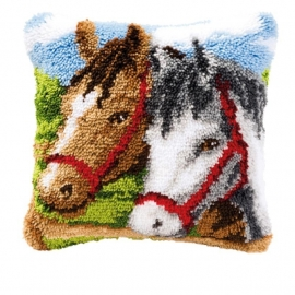 Knoopkussen 3579 Paarden Levertijd 1 week
