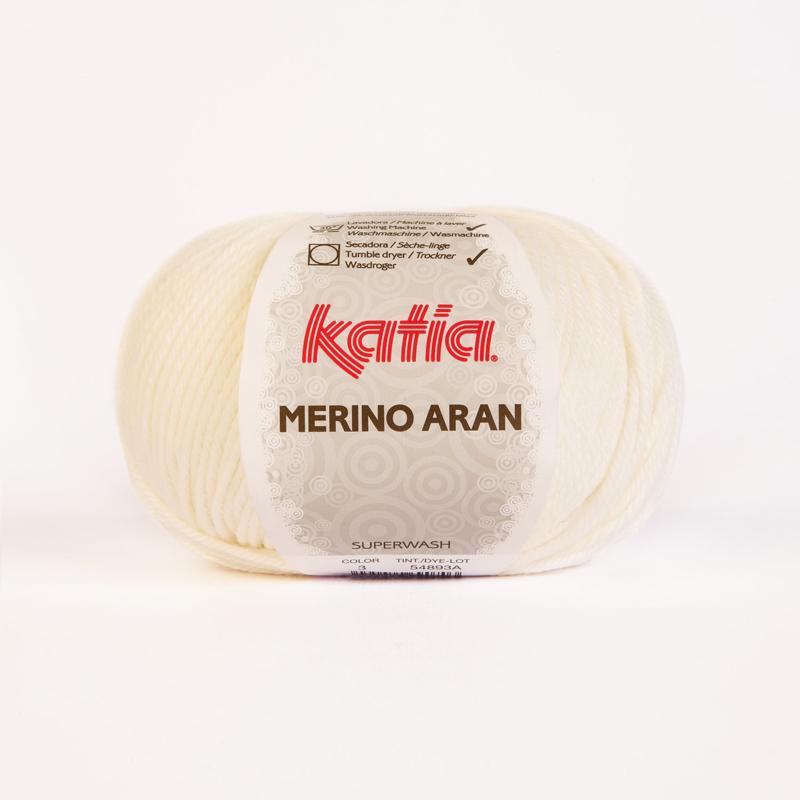 Merino Aran 03 Ecru