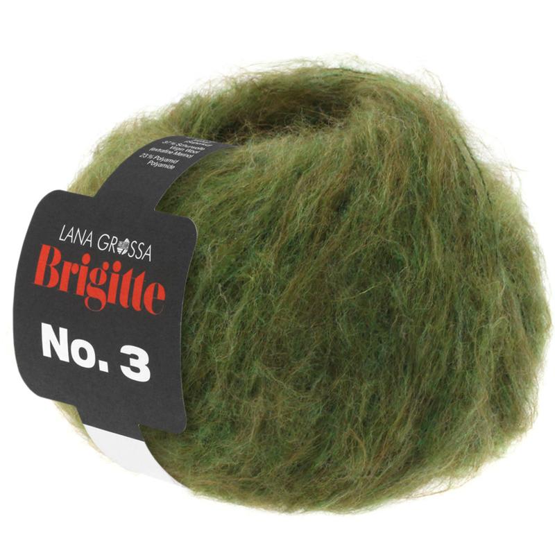 Brigitte nr.3 Olijf 030