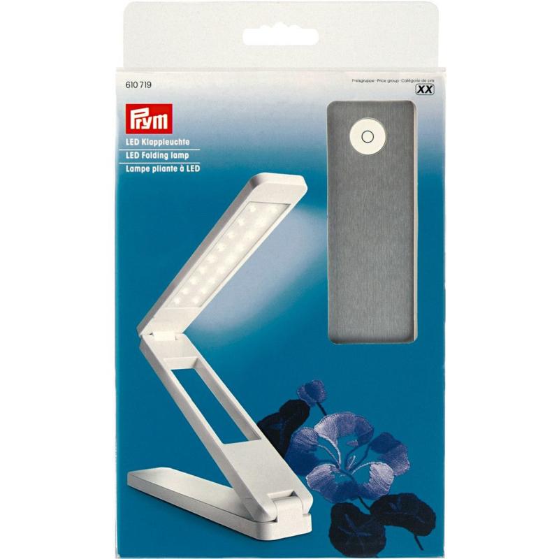 Prym Draagbare Vouwlamp LED - Oplaadbaar