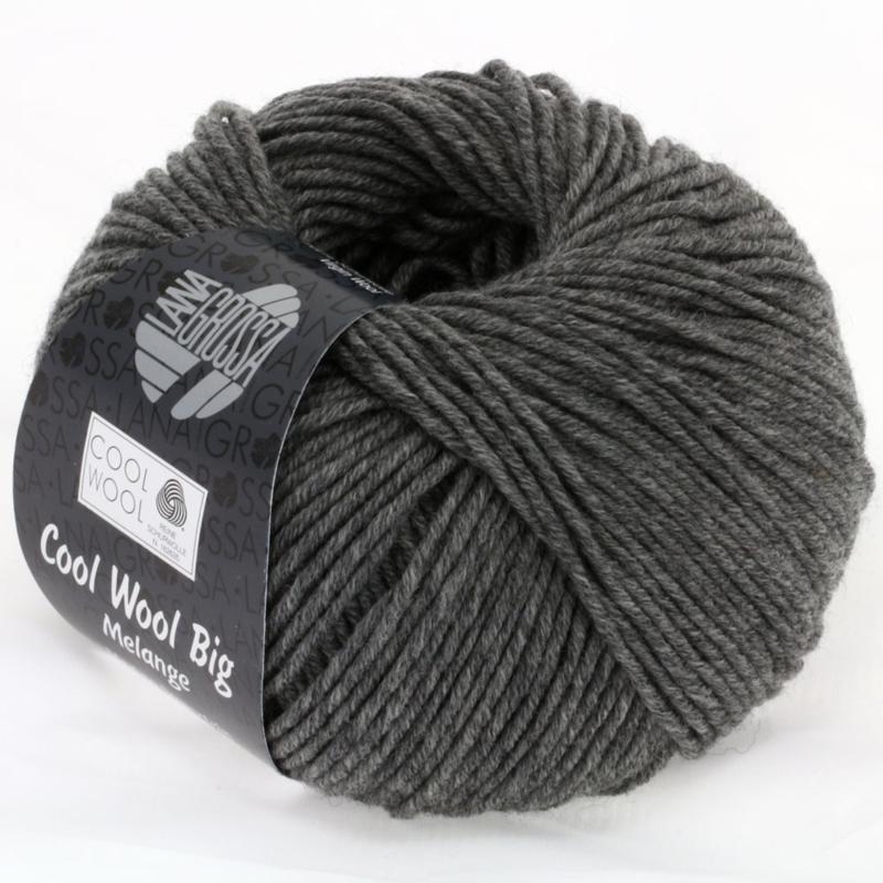Cool Wool Big Mélange  617 Midden grijs